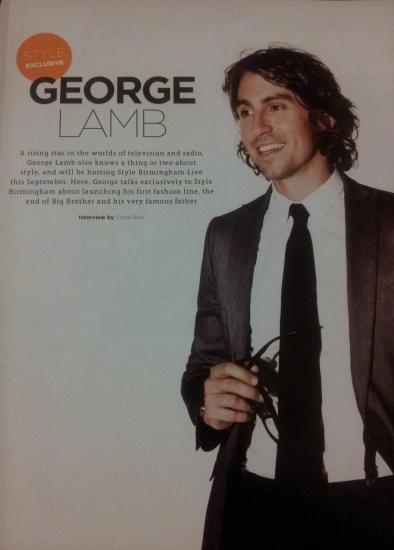 George Lamb interview