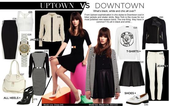 Uptown v Downtown